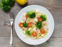 cuisine brocolis pâtes au brocolis saumon et tomates cerises la cuisine d adeline