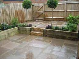 Paved Garden Design Ideas See More Patio Pond With Floating Slabs Small Fearless Small Paved