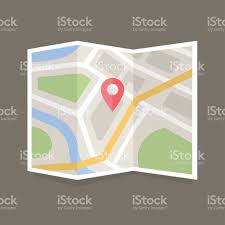 flat map icon stock vector art 504113716 istock