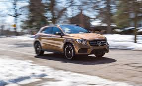 mercedes suv reviews 2018 mercedes gla250 4matic test review car and driver