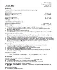 Electrical Engineering Resume Samples by 30 Modern Engineering Resume Templates Free U0026 Premium Templates