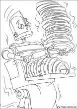 robots coloring pages coloring book