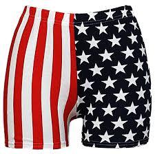 American Flag Swimming Trunks Comfiestyle Women U0027s Ladies Usa American Flag Print Pants