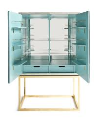 Mirrored Bar Cabinet Friday Find Delphine Mirrored Bar By Jonathan Adler