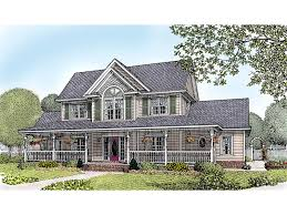 two story house plans with front porch amish hill country farmhouse plan 067d 0011 house plans and more