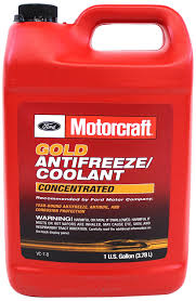 amazon com genuine ford fluid vc 7 b gold concentrated antifreeze