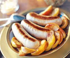 cuisiner boudin blanc plat traditionnel boudin blanc aux pommes
