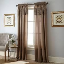 Khaki Curtains Tan Curtains U0026 Drapes Shop The Best Deals For Nov 2017