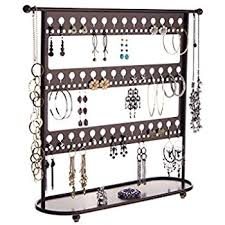 earring holder necklace images Angelynn 39 s jewelry organizers earring holder organizer jpg