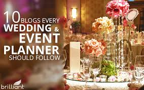 event planner 10 blogs every wedding event planner should follow