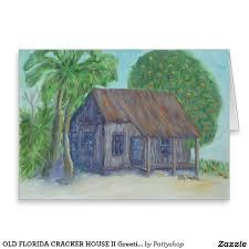 old florida cracker house ii greeting card crackers