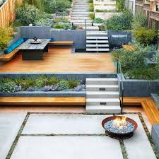 Sloped Backyard Design Ideas 20 Decking Patio Pergola Frenchs Forest Emerald Building