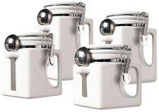 oggi ceramic kitchen canister sets ebay