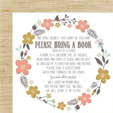bring a book instead of a card wording wording for baby shower invitations bring a book baby showers ideas