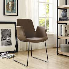 Dining Chair Outlet Modway Aloft Dining Armchair Tan Foam Armchairs Furniture