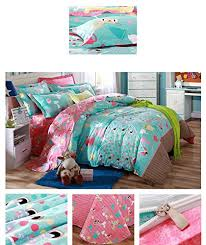 memorecool home textile cute cartoon design boys and girls bedding