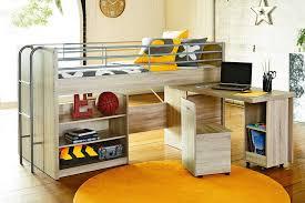 simple loft bed with futon underneath modern loft beds