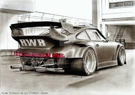 rwb porsche 911 rwb porsche 911 turbo 930 by krzysiek jac on deviantart