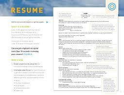 examples of a resume for a job resume career services university at buffalo 1 of 4