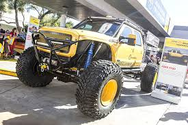 monster truck show in chicago walking around sema 25 cool trucks tensema16