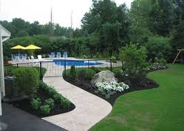Backyard Pool Ideas by Best 25 Landscaping Around Pool Ideas Only On Pinterest
