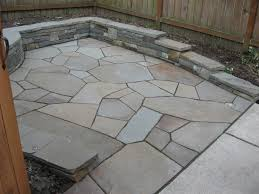 Stone Patio Images by Decorative Flagstone Patio U2014 All Home Design Ideas