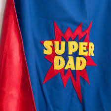 super dad cape by alice cook designs notonthehighstreet com