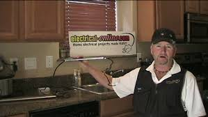 Lights For Under Kitchen Cabinets by Installing Under Cabinet Lighting Electrical Online