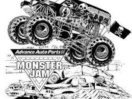 monster jam coloring pages advance auto parts monster jam coloring