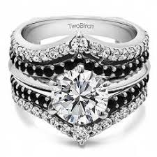 wedding ring jackets ring enhancers black sears