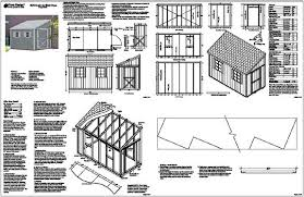 free lean to shed plans plans diy free download featherboards for