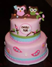 owl cakes for baby shower baby shower cakes with owls party xyz