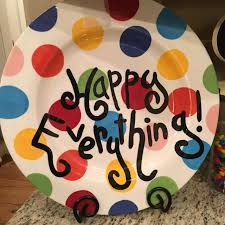 find more large happy everything plate would be a great re gift