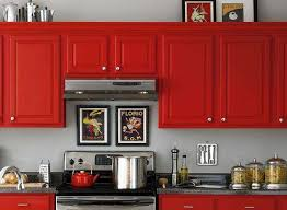 Red Color Kitchen Walls - 165 best red kitchens images on pinterest kitchen ideas