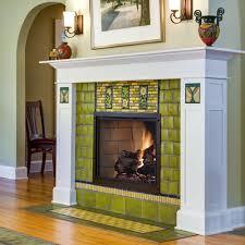 sunflower fireplace motawi tileworks