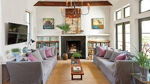 Living Room Decorating Ideas Southern Living - Furniture family room