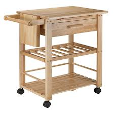 amazon com winsome wood finland kitchen cart kitchen islands