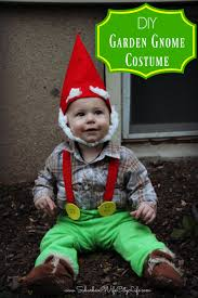 Gnome Halloween Costume Toddler Garden Gnome Costume Suburban Wife