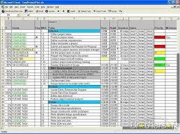 Requirements Template Excel Free Easyprojectplan Easyprojectplan 11 7