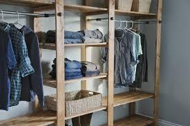 wood diy closet system u2014 home design ideas