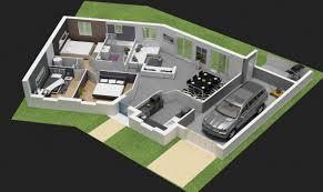 plan de maison 4 chambres plan de maison plain pied 4 chambres evtod
