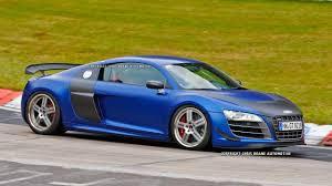 Audi R8 Blue - 2013 audi r8 gt photos u2013 new r8 gt caught track testing in germany