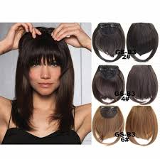 clip in fringe aliexpress buy clip in fringe blunt bangs and easy