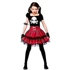 cute halloween costumes for toddler girls freaky punk kids costume girls halloween gore evil fancy