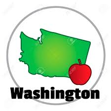 Washington State Detailed Map Stock by Washington State Map Royalty Free Cliparts Vectors And Stock