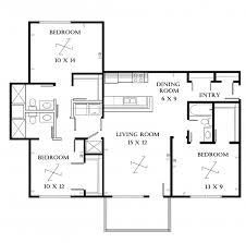 Architectural Plans Remarkable Architectural Drawings Plan Of Three Bedroom Flat