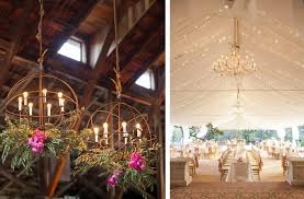 Wedding Chandelier 26 Creative Lighting Ideas For Your Wedding Reception Reception
