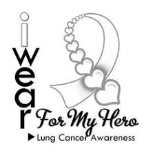 lung cancer awareness ribbon clipart clipartxtras