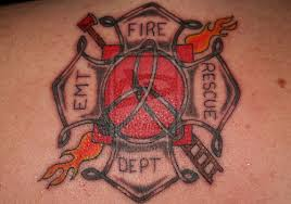 40 impressive firefighter tattoos creativefan
