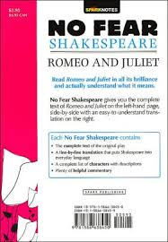 romeo and juliet no fear shakespeare by sparknotes sparknotes
